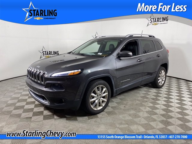 Pre-Owned 2016 Jeep Cherokee Wagon 4 Dr.