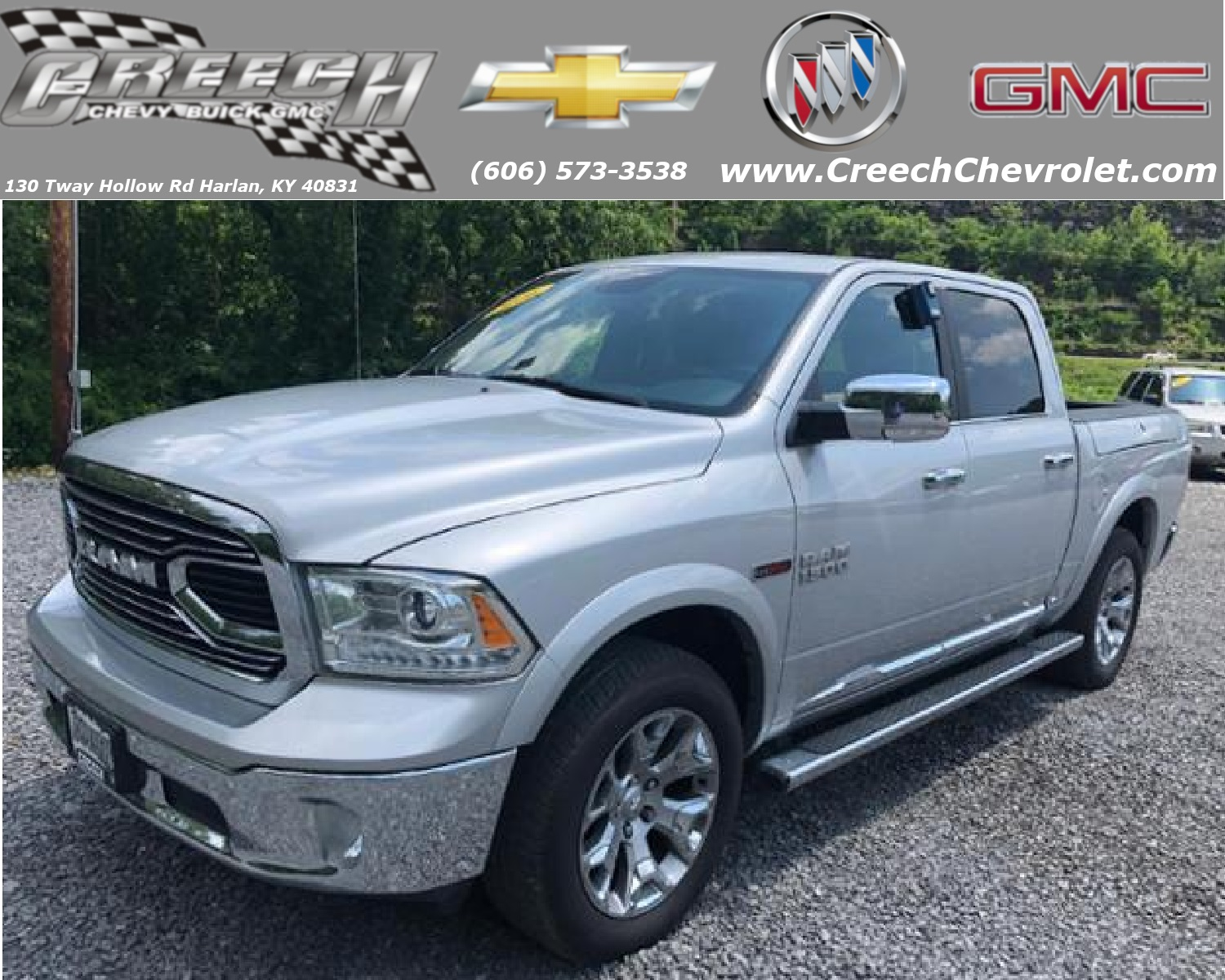 Pre-Owned 2016 Ram 1500 Longhorn Limited Four-Wheel Drive Crew Cab Pickup - Short Bed