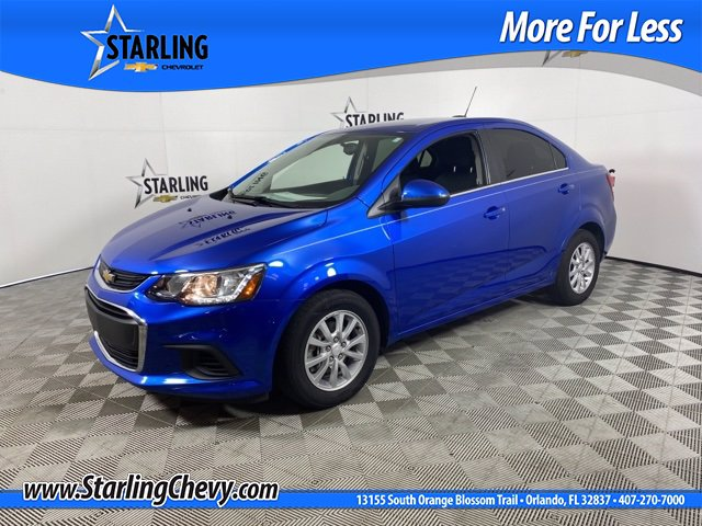 Pre-Owned 2017 Chevrolet Sonic LT FWD Sedan