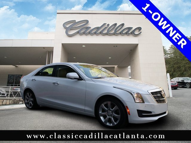2015 CADILLAC ATS Luxury RWD Car