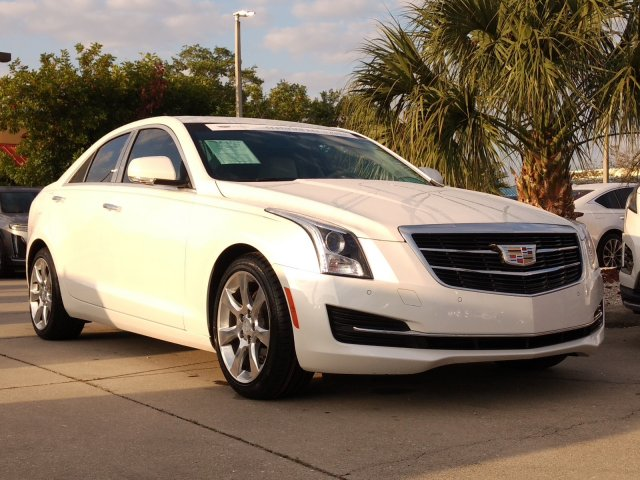 2016 CADILLAC ATS Luxury Collection RWD Car