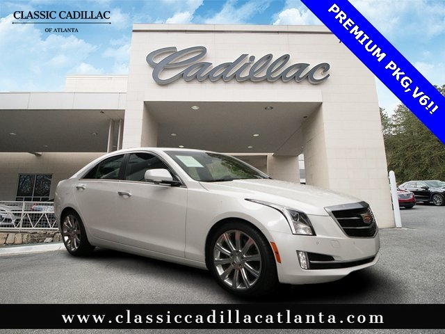 2017 CADILLAC ATS Premium Luxury RWD Car