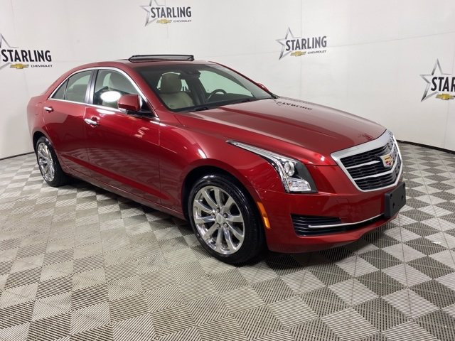 Pre-Owned 2017 Cadillac ATS Luxury AWD