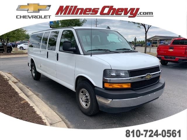 Certified Pre-Owned 2018 Chevrolet Express Passenger 3500 LT RWD Extended Wheelbase