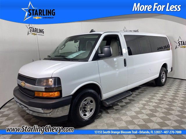 Pre-Owned 2019 Chevrolet Express Passenger 3500 LT