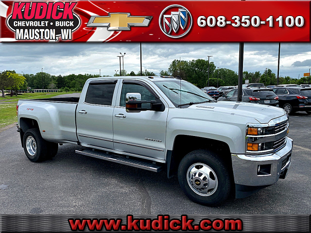 Pre-Owned 2016 Chevrolet Silverado 3500 HD LTZ