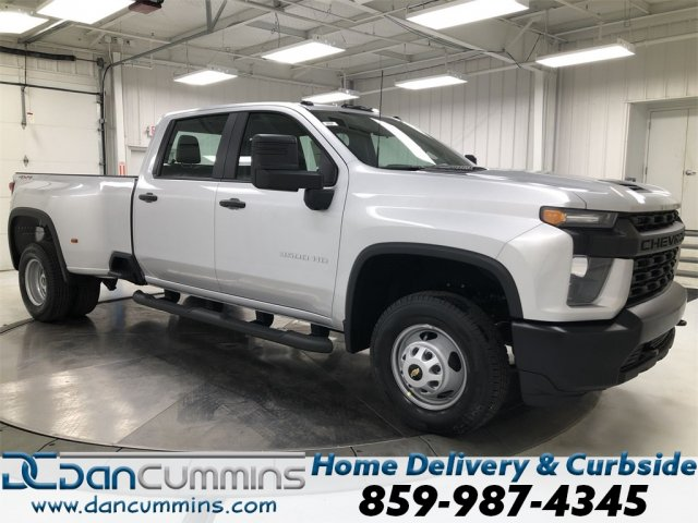New 2020 Chevrolet Silverado 3500 HD WT DRW Four Wheel Drive Crew Cab