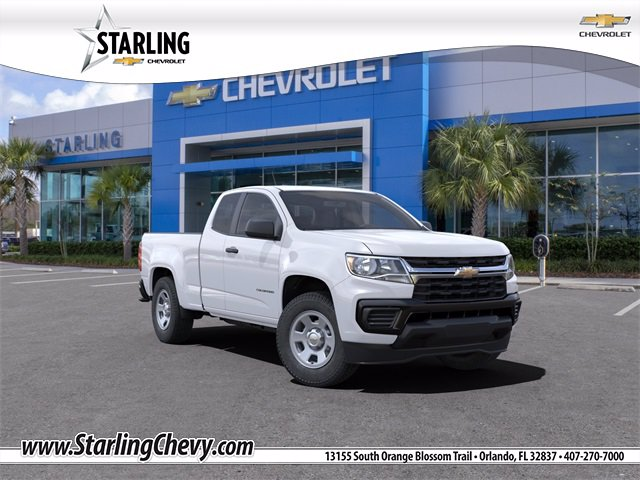New 2021 Chevrolet Colorado WT Rear Wheel Drive Extended Cab