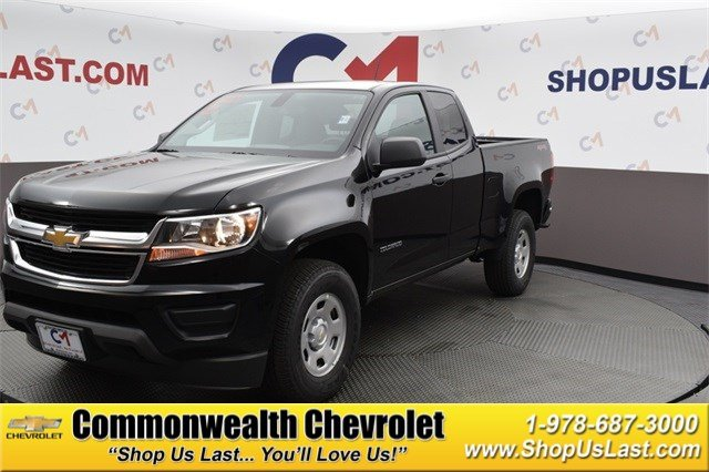 2020 Chevrolet Colorado WT 4WD Extended Cab
