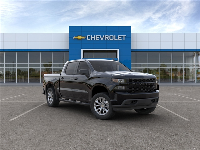 New 2020 Chevrolet Silverado 1500 Custom Four Wheel Drive Crew Cab