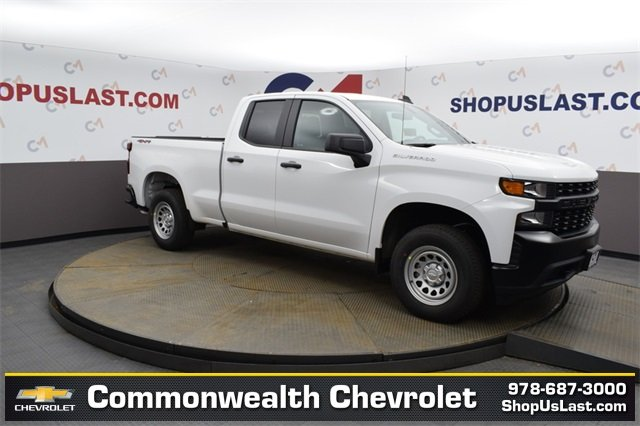 New 2020 Chevrolet Silverado 1500 WT Four Wheel Drive Double Cab