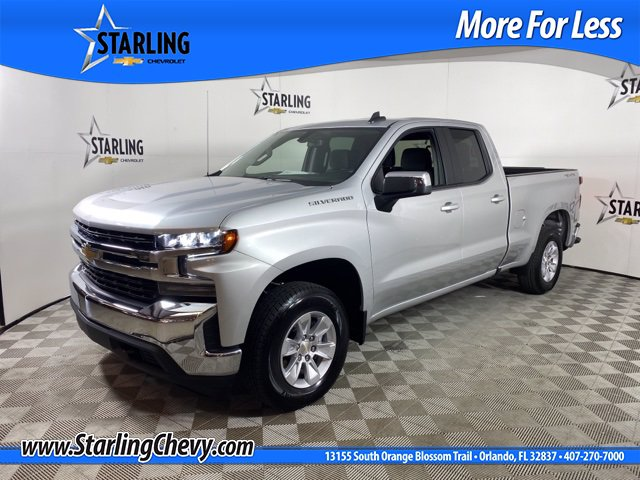 Certified Pre-Owned 2020 Chevrolet Silverado 1500 LT AWD Double Cab
