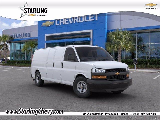 New 2020 Chevrolet Express Cargo 2500 WT Rear Wheel Drive Extended Wheelbase