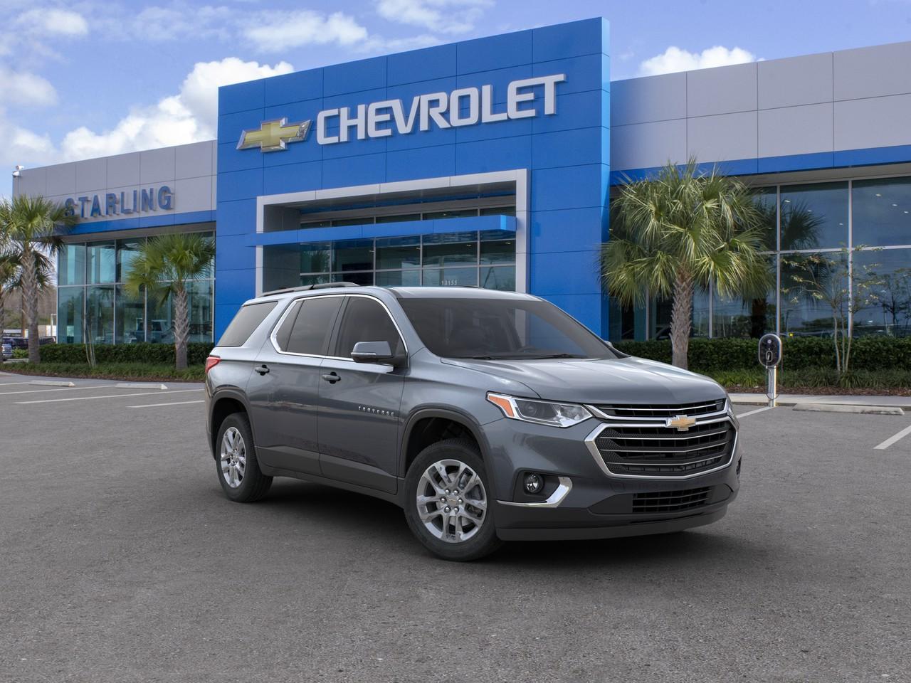 New 2020 Chevrolet Traverse LT Leather