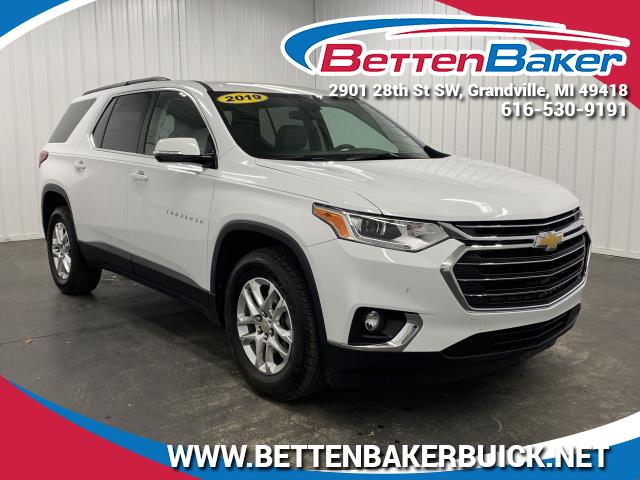 Pre-Owned 2019 Chevrolet Traverse LT Leather NA SUV
