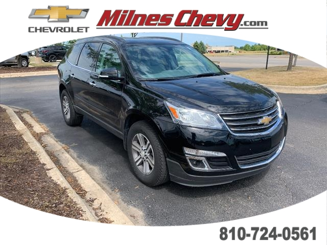 Certified Pre-Owned 2017 Chevrolet Traverse LT FRONT_WHEEL_DRIVE Crossover