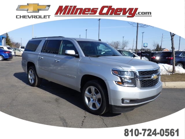 Pre-Owned 2015 Chevrolet Suburban LT 4WD SUV