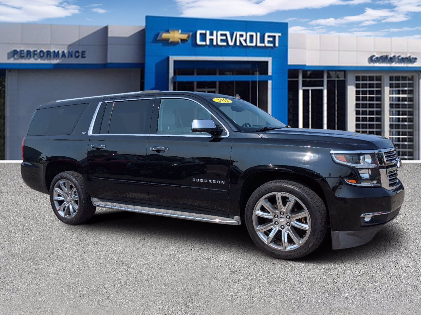 Pre-Owned 2015 Chevrolet Suburban LTZ FOUR_WHEEL_DRIVE SUV