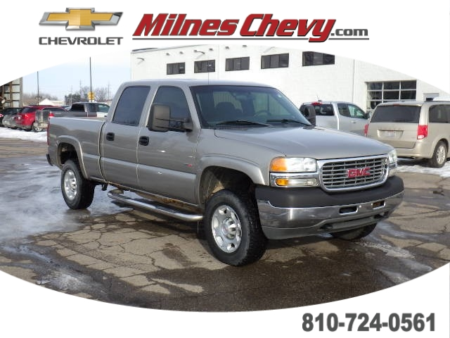 2002 GMC Sierra 2500 HD SLE