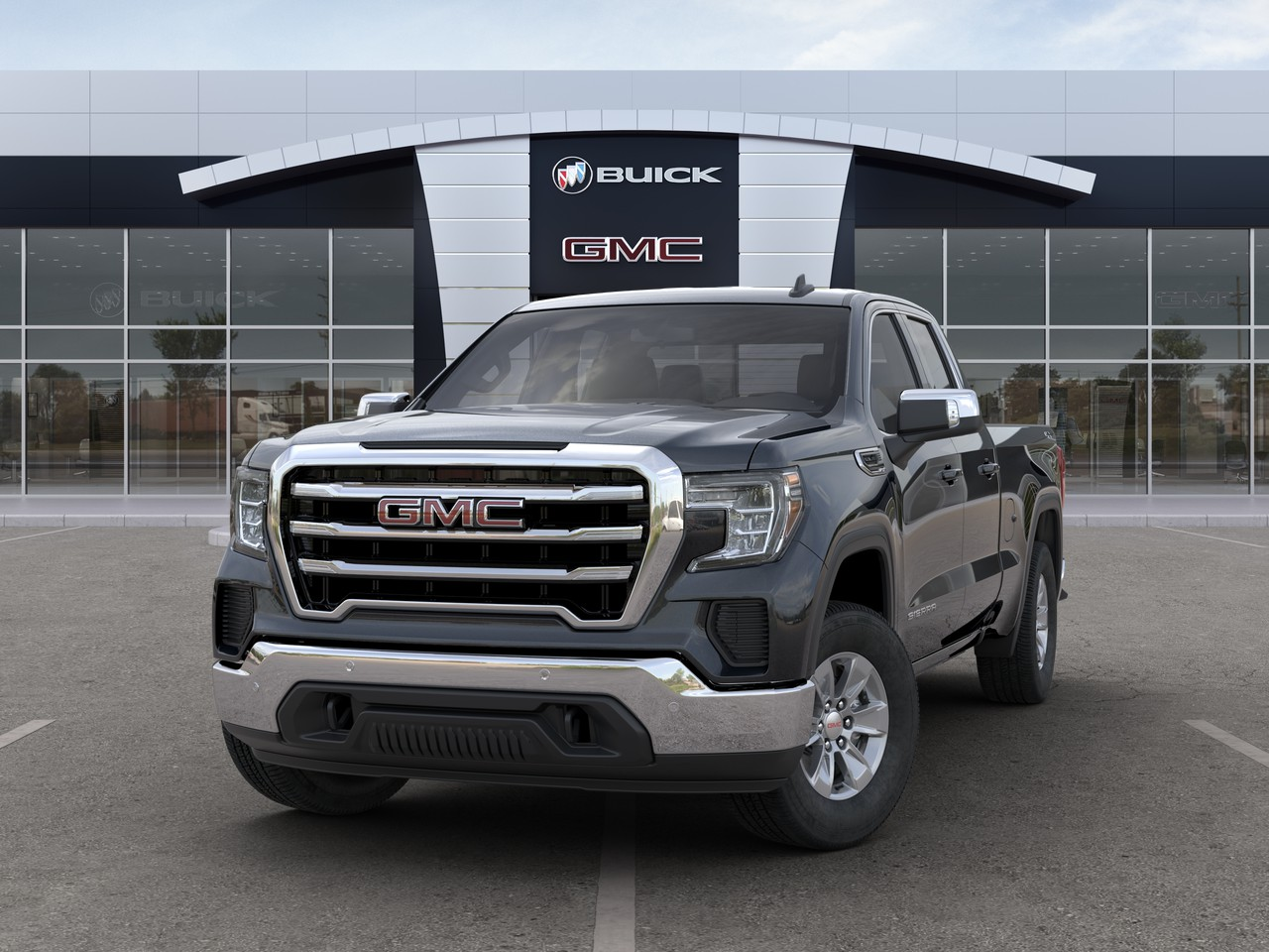 New 2020 GMC Sierra 1500 SLE 4WD Double Cab