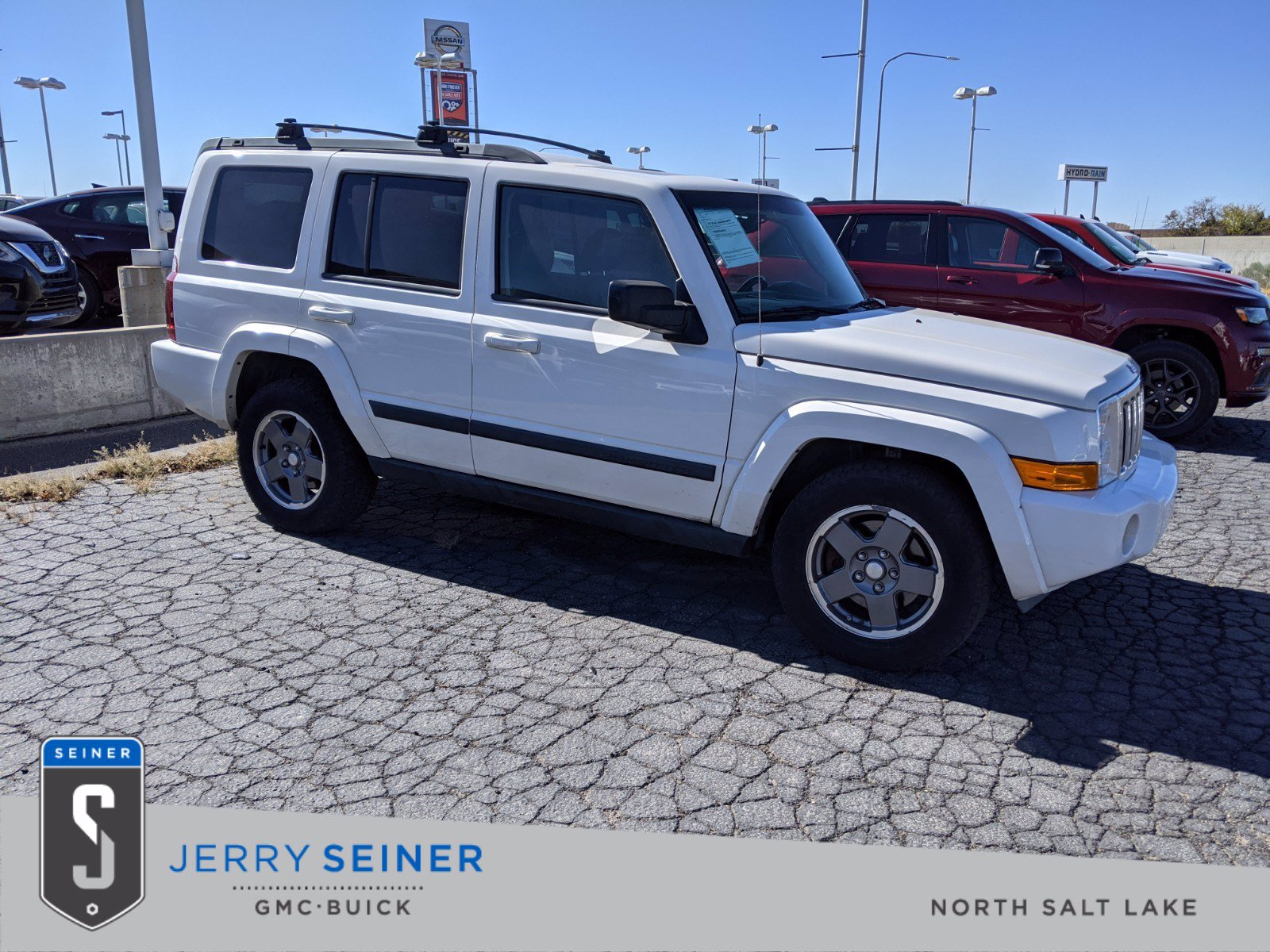 Pre-Owned 2008 Jeep Commander