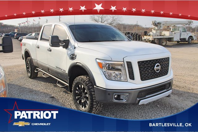 Pre-Owned 2018 Nissan Titan XD PRO-4X Crew Cab Long Bed