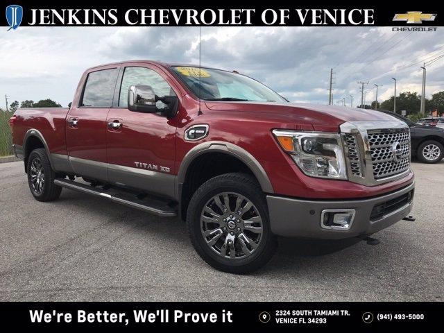 Pre-Owned 2016 Nissan Titan XD Crew Cab Long Bed