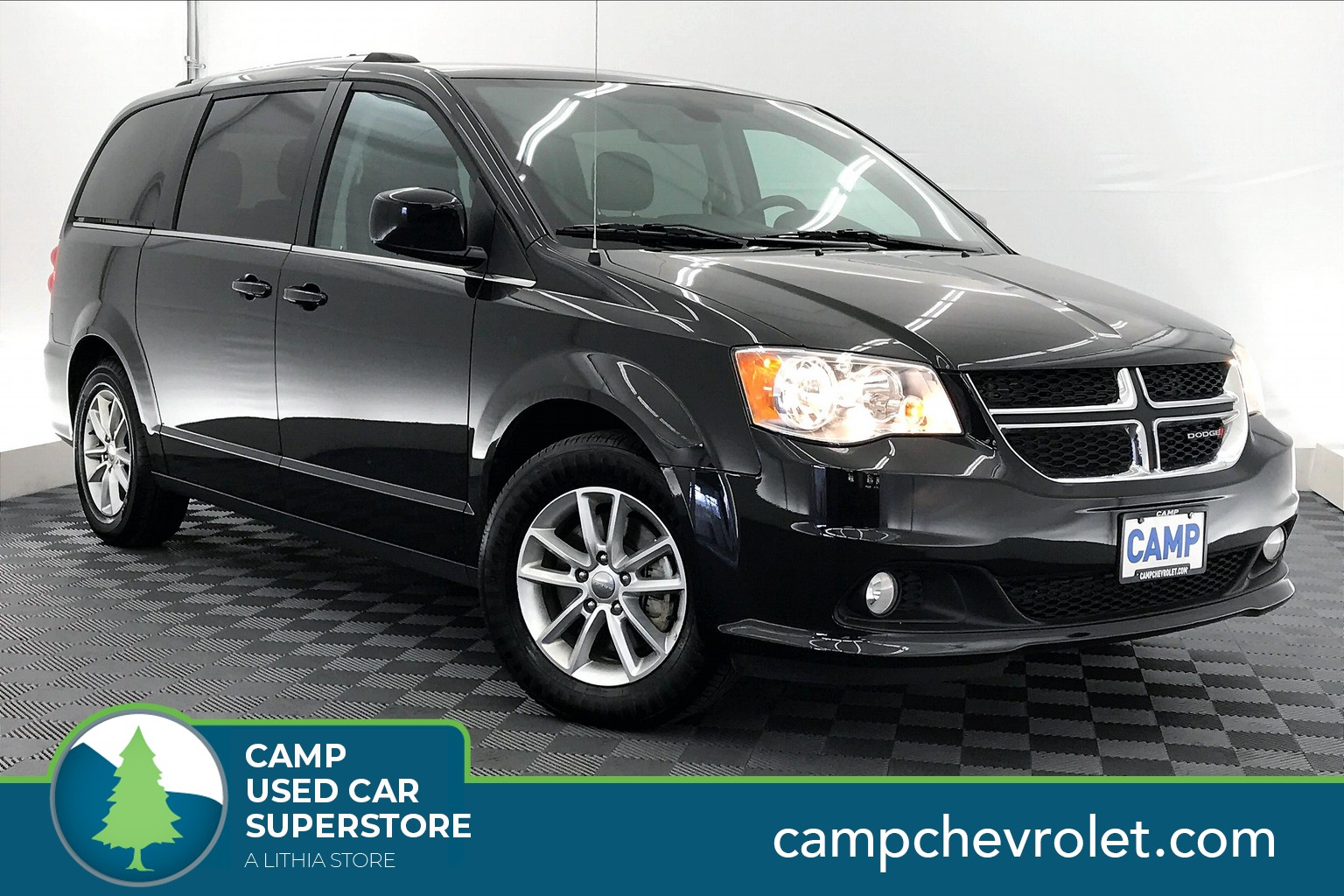 Pre-Owned 2020 Dodge Grand Caravan SXT