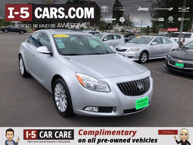 Used 2012 Buick Regal Premium 1 Car 2G4GS5EK7C9136244 in Chehalis, WA