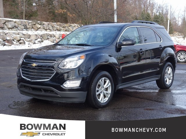 Pre-Owned 2017 Chevrolet Equinox LT 4WD Crossover