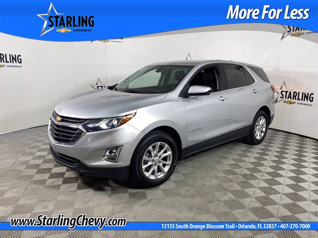 Certified Pre-Owned 2018 Chevrolet Equinox LT FWD SUV