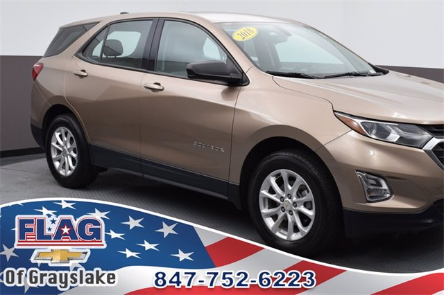 Certified Pre-Owned 2018 Chevrolet Equinox LS ALL_WHEEL_DRIVE SUV