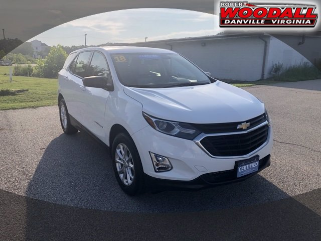 Certified Pre-Owned 2018 Chevrolet Equinox LS AWD SUV