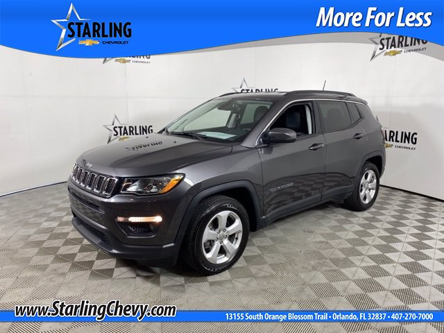 Pre-Owned 2019 Jeep Compass Wagon 4 Dr.