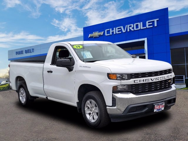 Certified Pre-Owned 2019 Chevrolet Silverado 1500 Work Truck RWD Regular Cab