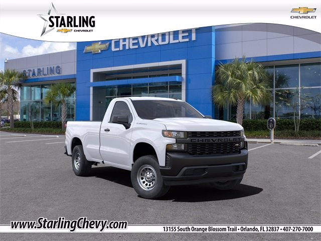 New 2021 Chevrolet Silverado 1500 WT