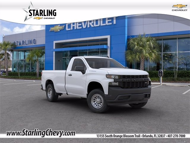 New 2020 Chevrolet Silverado 1500 WT Rear Wheel Drive Regular Cab
