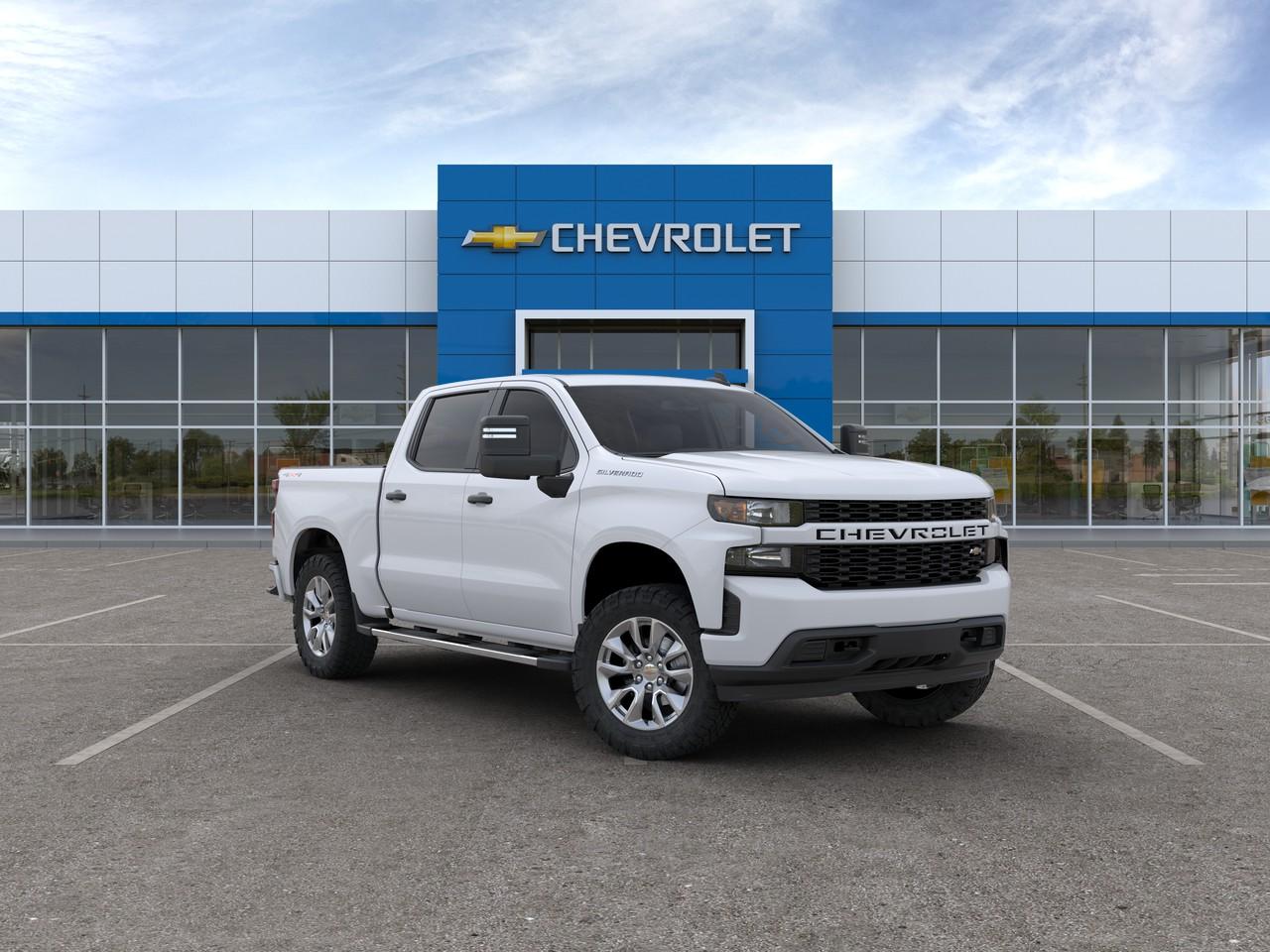 2020 Chevrolet Silverado 1500 Custom Crew Cab Pickup