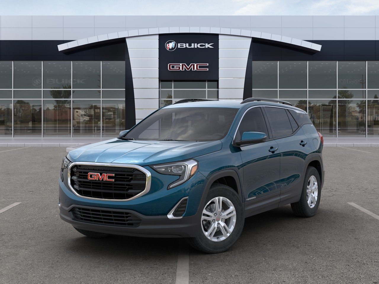New 2020 GMC Terrain SLE AWD SUV