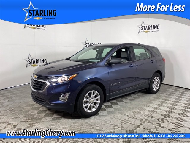 Certified Pre-Owned 2018 Chevrolet Equinox LS FWD SUV