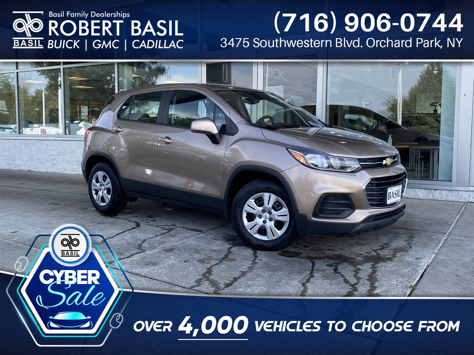 Pre-Owned 2018 Chevrolet Trax LS FRONT_WHEEL_DRIVE SUV