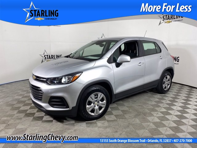 Certified Pre-Owned 2019 Chevrolet Trax LS FWD SUV