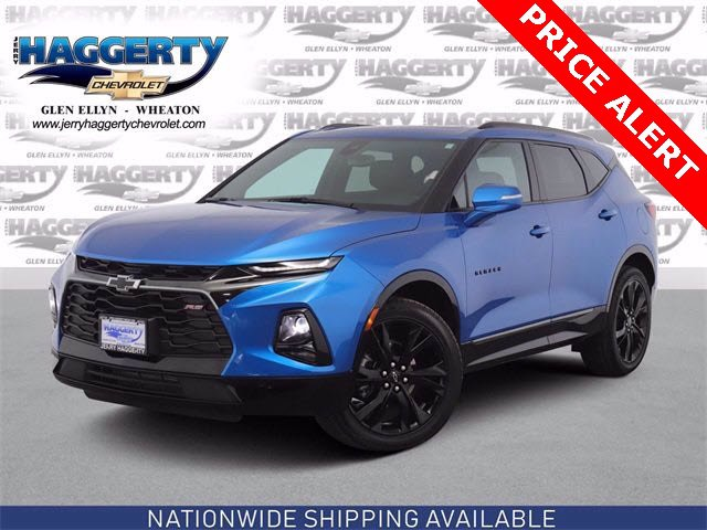 Certified Pre-Owned 2021 Chevrolet Blazer RS