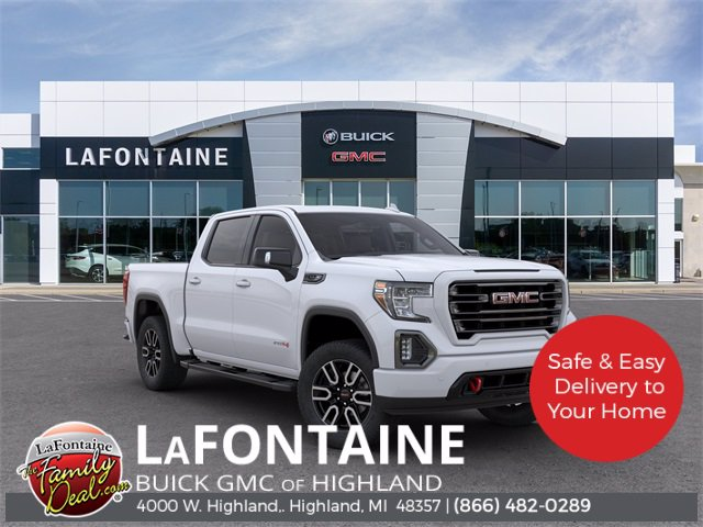 Pre-Owned 2020 GMC Sierra 1500 AT4 4-Wheel Drive Crew Cab