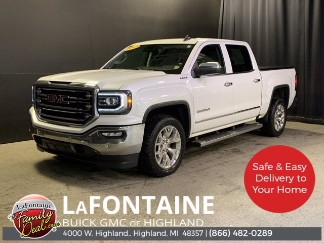 Pre-Owned 2017 GMC Sierra 1500 SLT FOUR_WHEEL_DRIVE Crew Cab