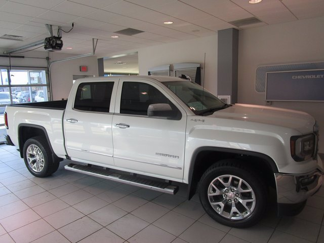 Pre-Owned 2016 GMC Sierra 1500 SLT Four Wheel Drive Crew Cab