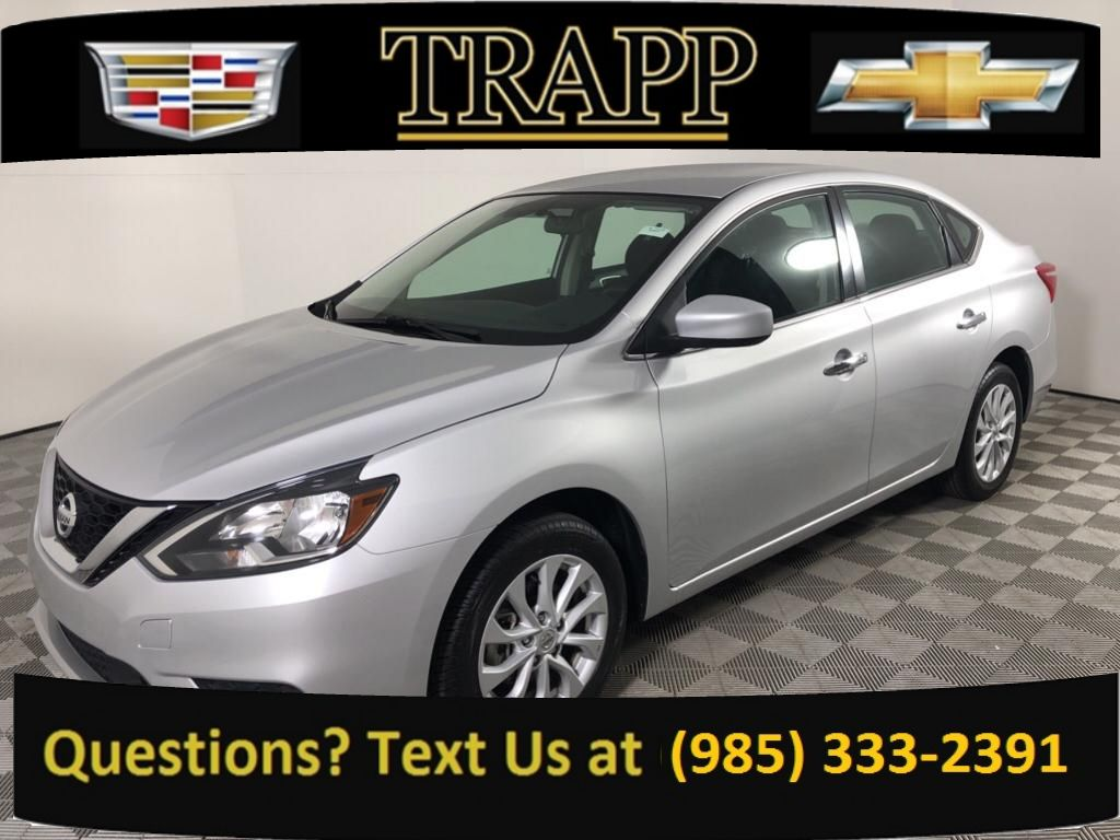 Pre-Owned 2019 Nissan Sentra SV Front Wheel Drive Sedan 4 Dr.