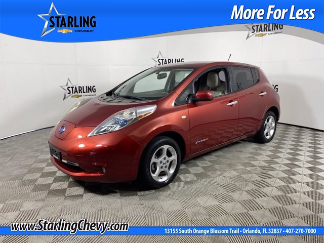 Pre-Owned 2011 Nissan LEAF SL FRONT_WHEEL_DRIVE 4dr Car
