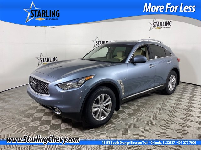 Pre-Owned 2017 INFINITI QX70 Wagon 4 Dr.