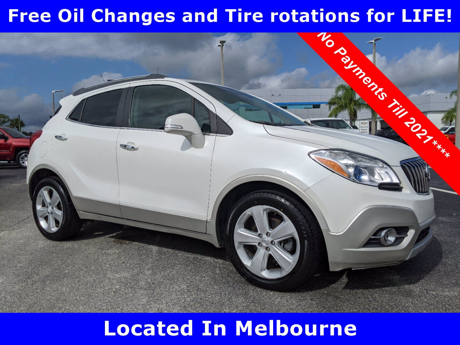 Pre-Owned 2015 Buick Encore Leather FWD SUV